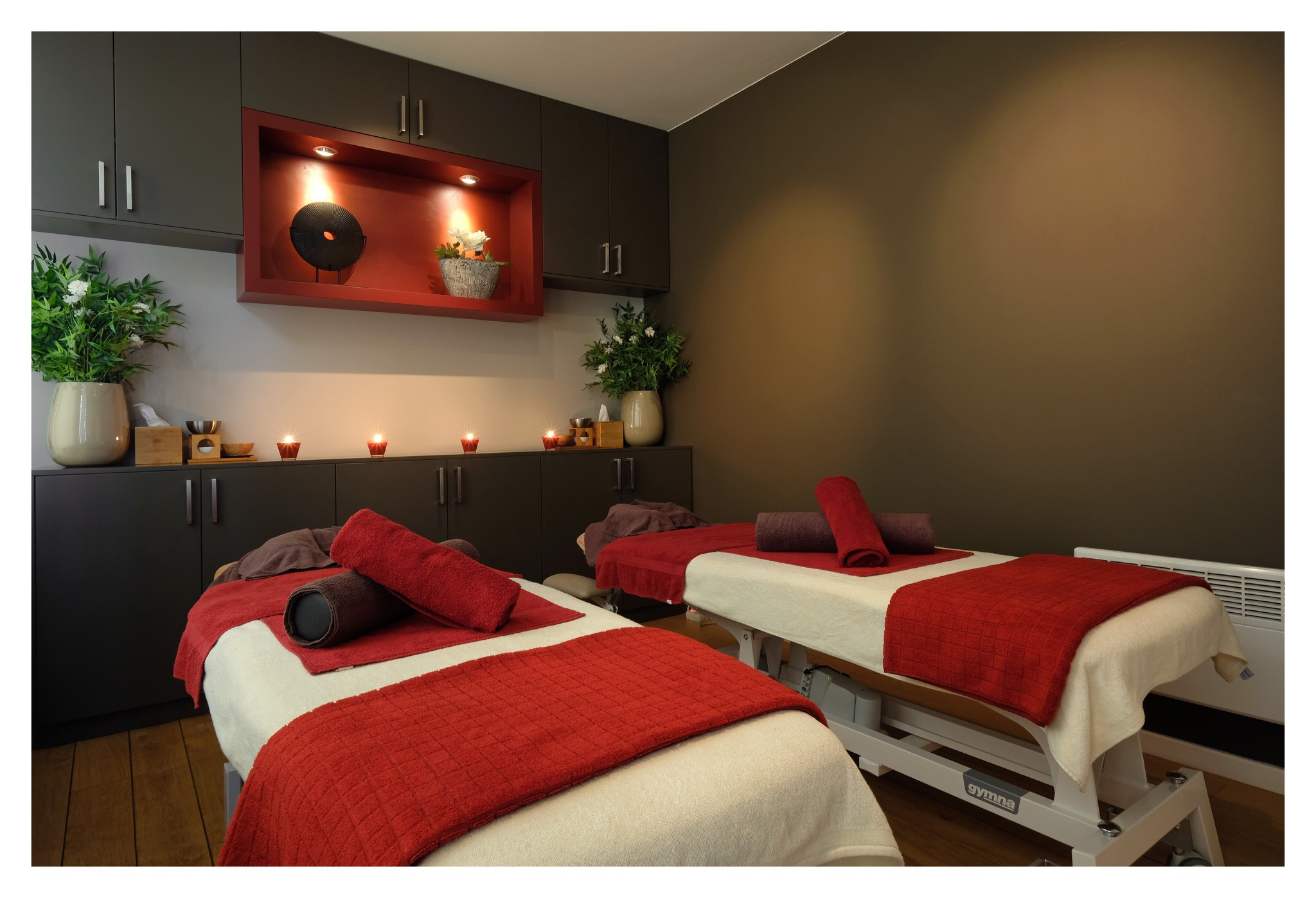 Cabine de massage duo